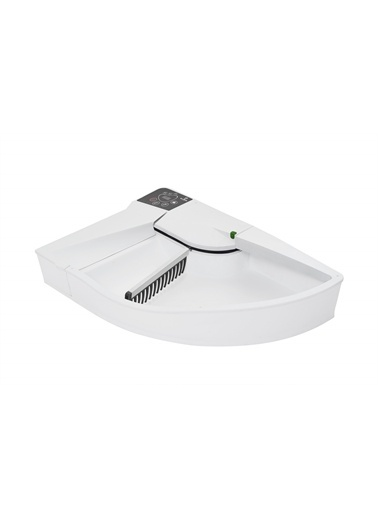 Smart Kitty Otomatik Kedi Tuvaleti Beyaz - Beyaz   Sk-Ww Beyaz